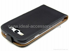 Samsung Galaxy S3 i9300 genuine leather protect case