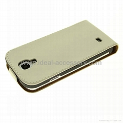 For Samsung Galaxy S4 i9500 Pu leather case cover pouch holster