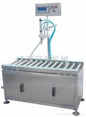 萊蕪單頭稱重式潤滑油灌裝機