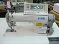單針高速自動剪線平縫機+伺服馬達連選針盒
