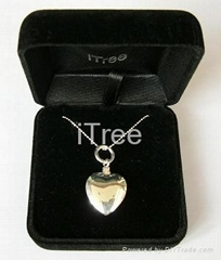 Solid Sterling Silver 925 Cremation Jewelry (HU-106)