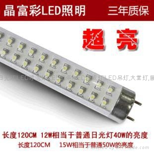 T10 LED Tube with 110 to 220/85 to 264V AC Input Voltage, No UV or IR Radiation