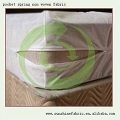 100% pp spunbond non woven fabric for Bed Sheet