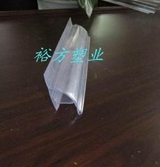 貨架PVC半圓插標價條