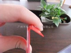 厂家直供PVC异形软硬共挤标价条