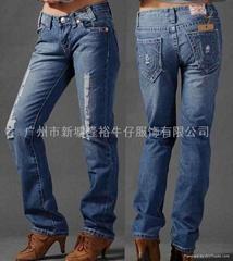 2012最新設計 歐美風格 女士牛仔褲