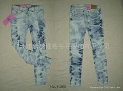 2012 最新春裝直筒女士牛仔褲
