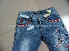 外貿女裝時尚牛仔褲 2012年新款上市