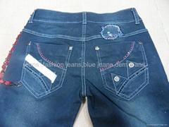 女性時尚休閑jeans褲