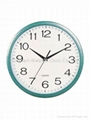 12 inches plastic wall clock SNT-W020