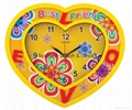 Art wall clock  SNT-CL037