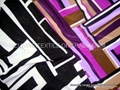 print FDY knitted fabric