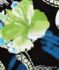 knitted fabric with printed