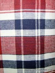 全棉色織布