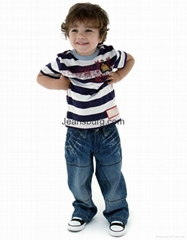 儿童牛仔裤