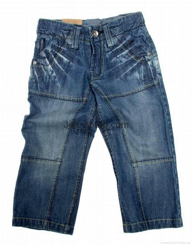儿童牛仔褲 2