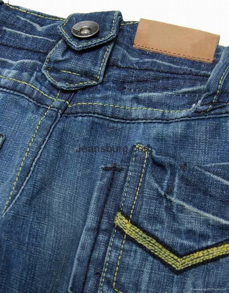 儿童牛仔褲 4