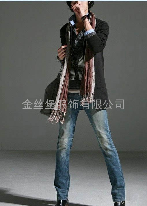 男式牛仔褲 1