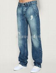 男式牛仔褲