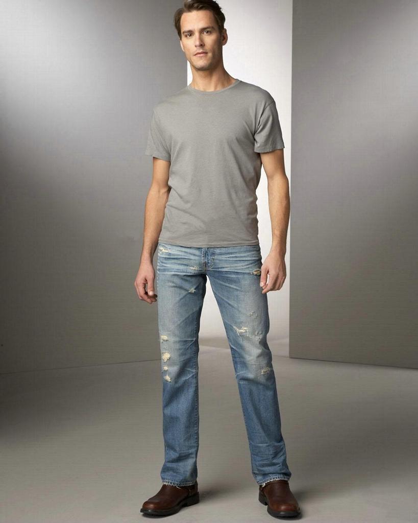 男式牛仔褲 5