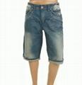 男式牛仔短褲 3