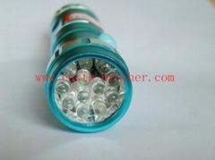 鋁合金12燈手電筒