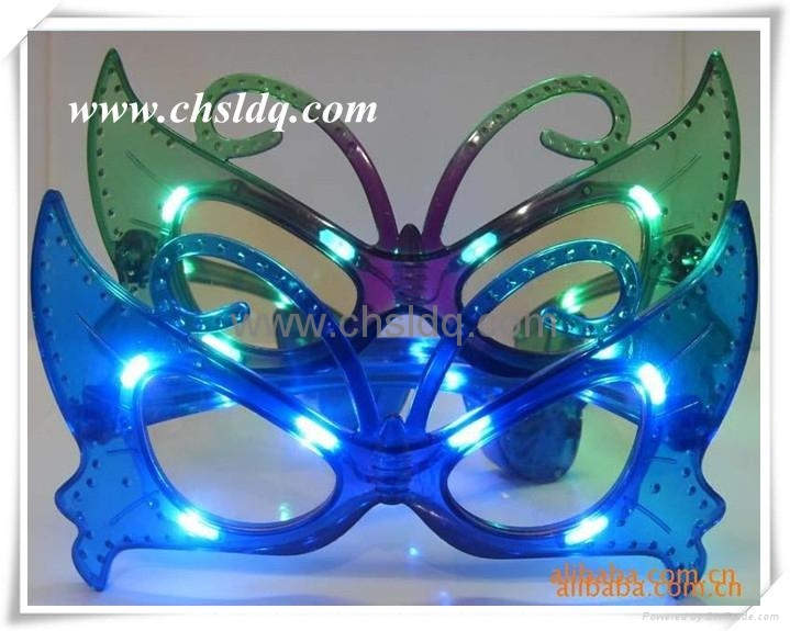 SL205 led party glasses,led glasses,butterfly fashion  3