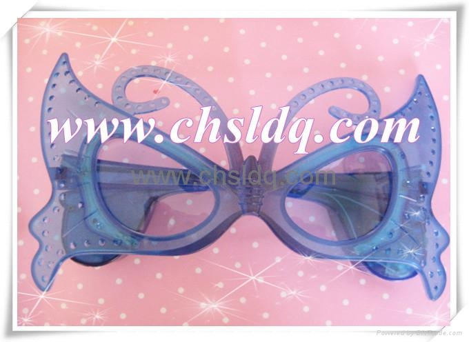 SL205 led party glasses,led glasses,butterfly fashion  4