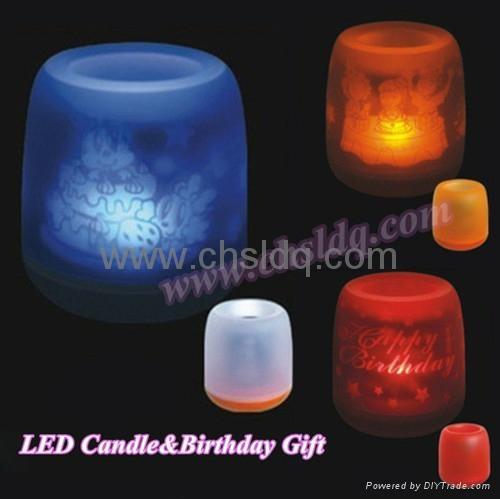 christmas led candle decoration 1