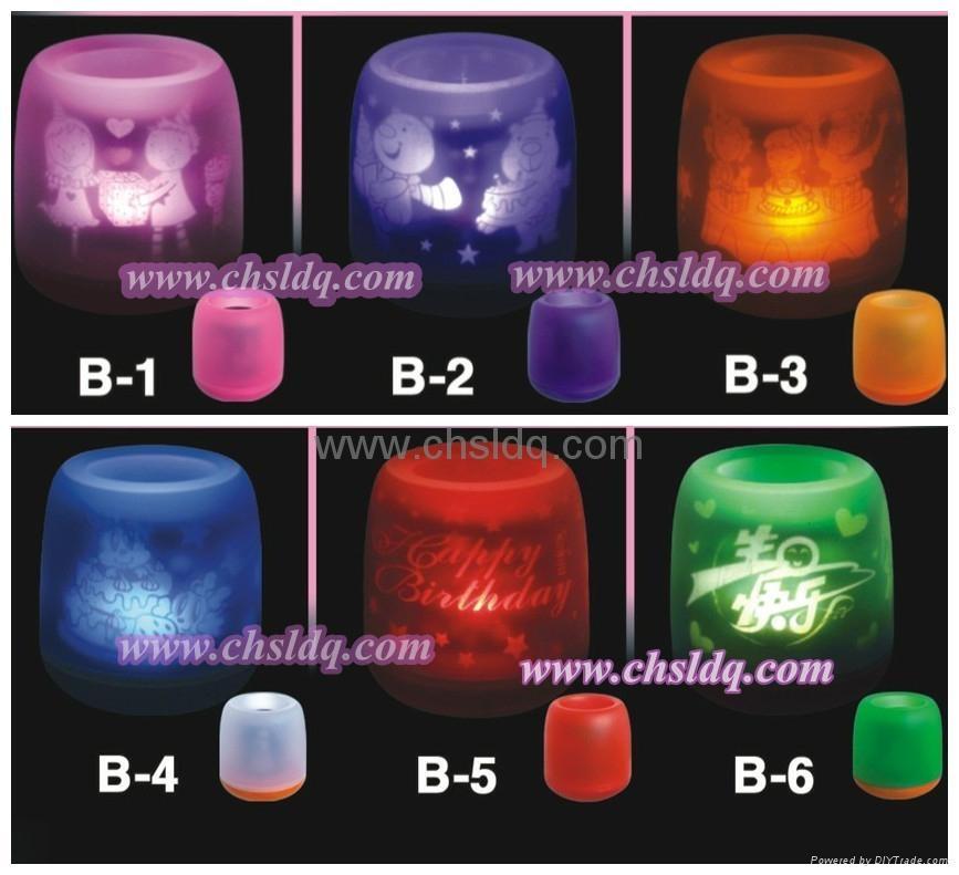 christmas led candle decoration 2