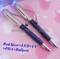 2011 Novelty gift Multifunction promotional metal pen 2