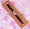 metal LED ball pen/wooden gift set,red laser pointer 1