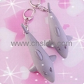 动物造型发光发声海豚玩具小手电 1