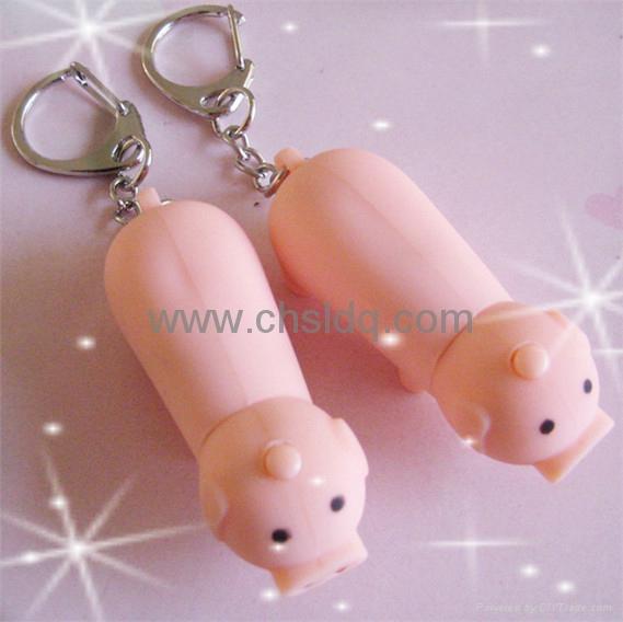 2011 lovely pink pig shape promotion gift 2