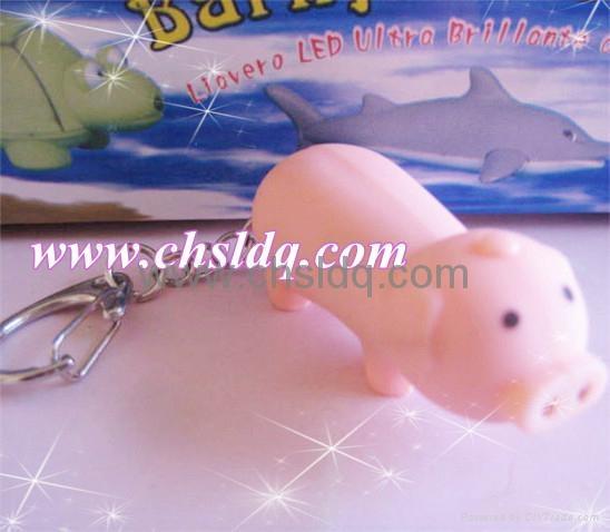 2011 lovely pink pig shape promotion gift 3
