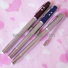 7合1多功能笔带验钞激光教鞭礼品笔