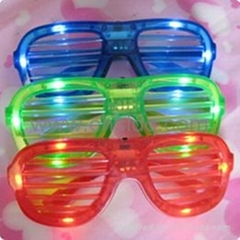 flashing led party glasses