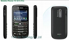 mobile phone E73 Pro TV cell phone send sms support JAVA function