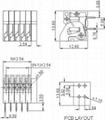 電子鎮流器接線端子(DA141R-508) 2