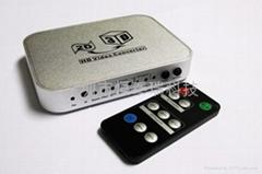 瑞元RY-V3D视频转换盒新外壳