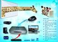 support 120HZ DLP projector 3D HD video converter 4