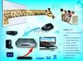 support 120HZ DLP projector 3D HD video converter 5