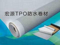 宏源熱塑性聚烯烴(TPO)防水卷材