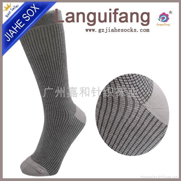 男士商務精梳棉襪子 1