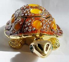 Metal Jewelry boxe