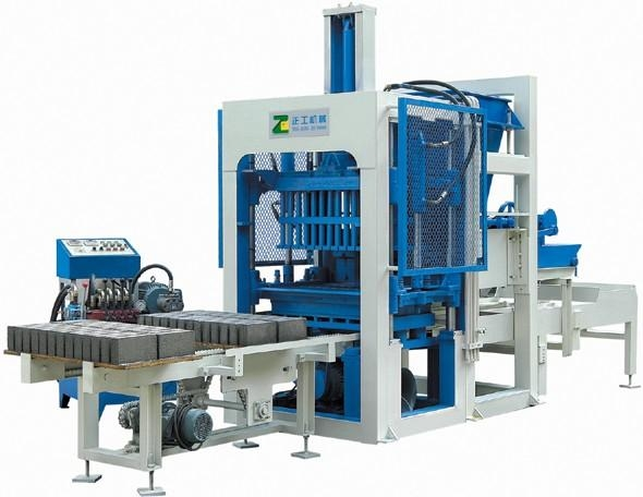 Cement Block Plant Machines : Qt concrete block making machine