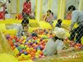 球球游泳池
