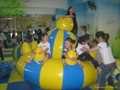 佛山游乐场设备儿童益智玩具儿童游艺机 环岛UFO