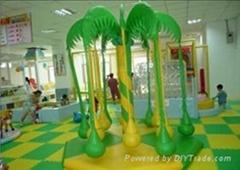 厂家供应儿童室内乐园设备 椰子秋千