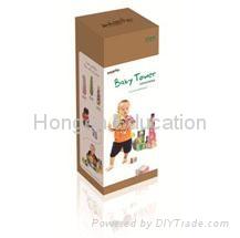 Baby Tower blocks for mini reader pen